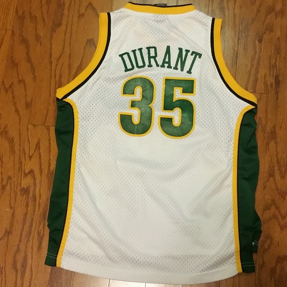89f82746da19 adidas Other - Rookie Kevin Durant adidas Seattle Sonics Jersey